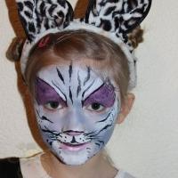 Kinder Schminken Katze (2)