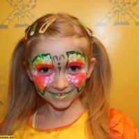 Kinderschminken Schmetterling (11)