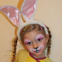Osterhase Kinderschminken (2)