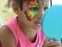 Kinderschminken LIDL Neueroeffnung Bruehl Juli 2017