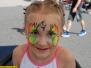 Kinderschminken Sommerfest Firmenfeier Dachsen SE Mannheim, Juni 2017