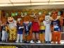 Maskottchen Rennen, Raffini Walkact am Wasseturm - 08 Juli 2018