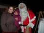 Nikolaus Besuch beim Weihnachtsmarkt - Klinikum Ludwigshafen
