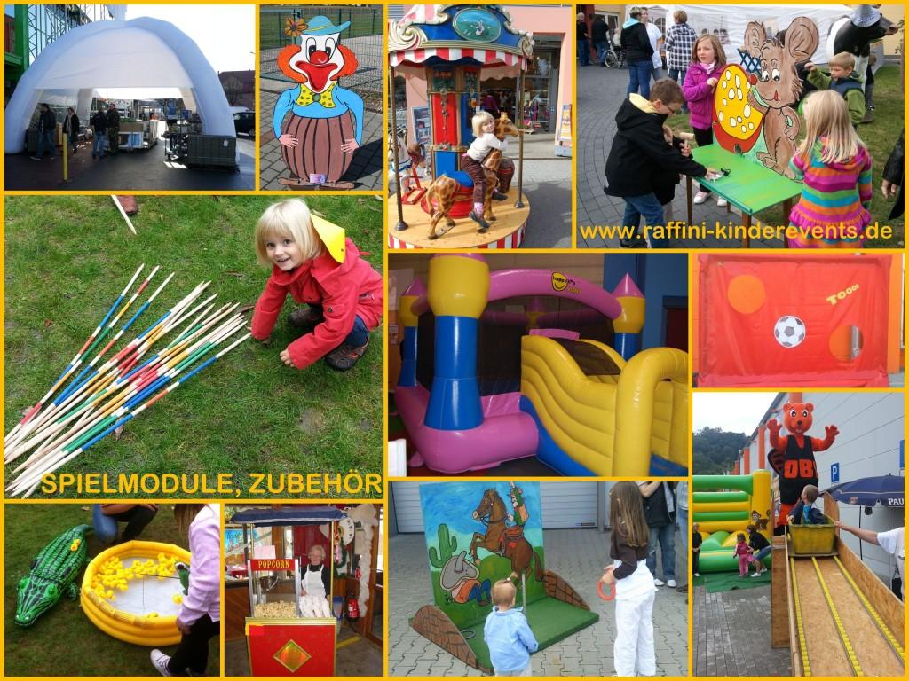 Spielmodule, Kinderanimation bei Raffini Kinderevents