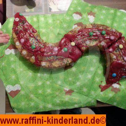 Kinder Schlangenkuchen - Raffini Kinderland