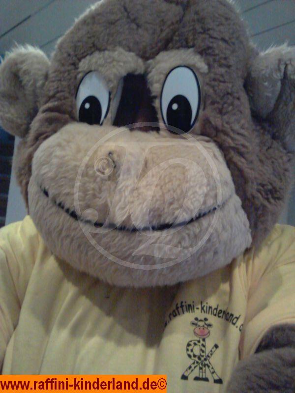 Raffini Kinderland - Affe Maskottchen - Kinderparty