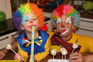 Cake Pops backen- Kinder Fasching Party