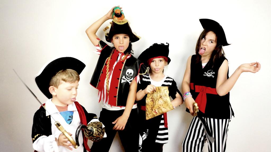 Crazy Party Piraten Fotoshooting