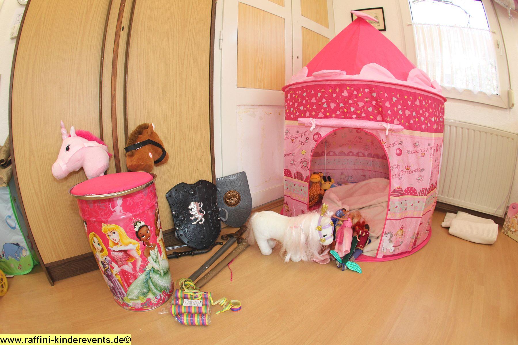 dekoration kindergeburtstag prinzessin ritter party 4 raffini kinderevents. Black Bedroom Furniture Sets. Home Design Ideas