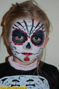 Halloween Party Facepainting Kinder