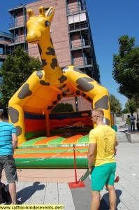 Kinderfest - Ludwigshafen spielt, Huepfburg
