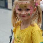 Kinderschminke, Ballon Modellage beim Kinderfest Mannheim