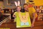 Osterhase Kuchen fuer Ostern mit Kindern backen – Majas kleine Backstube