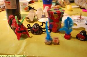 Recycling Basteln mit Kinder