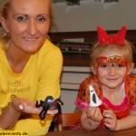 Recycling Basteln mit Kindern - Halloween Geister