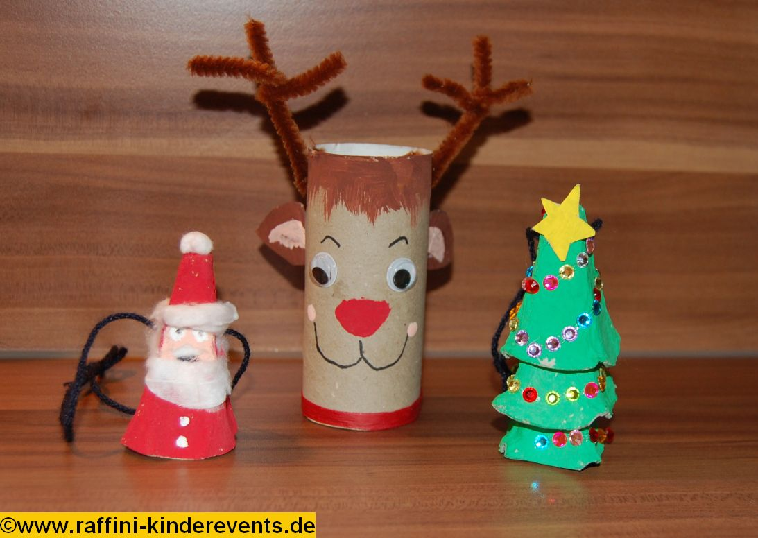 X-mas Recycling Crafts for Kids