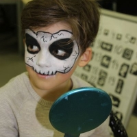 Facepainting, Glitzer Tattoos- Zeppelin, Cat, Frankenthal (5)