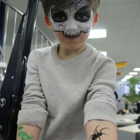 Facepainting, Glitzer Tattoos- Zeppelin, Cat, Frankenthal (9)