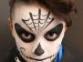 Halloween Facepainting Lilienthal Center Mannheim am 28.10.2017