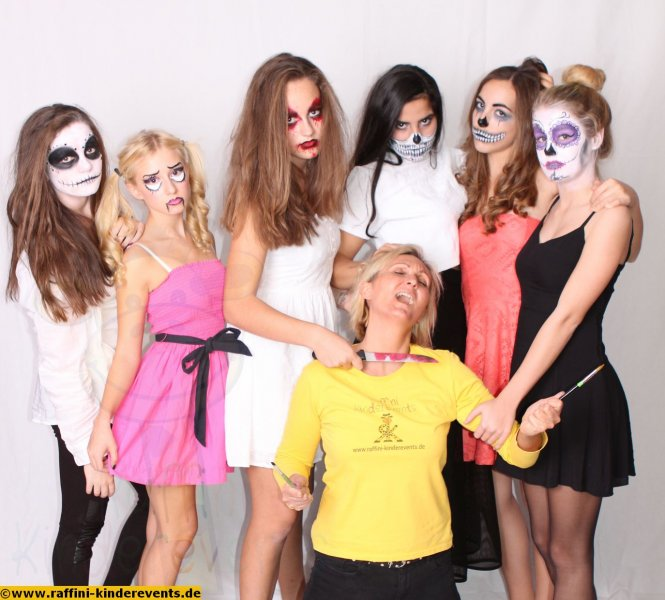 Halloween Facepainting Party 2015 (1)