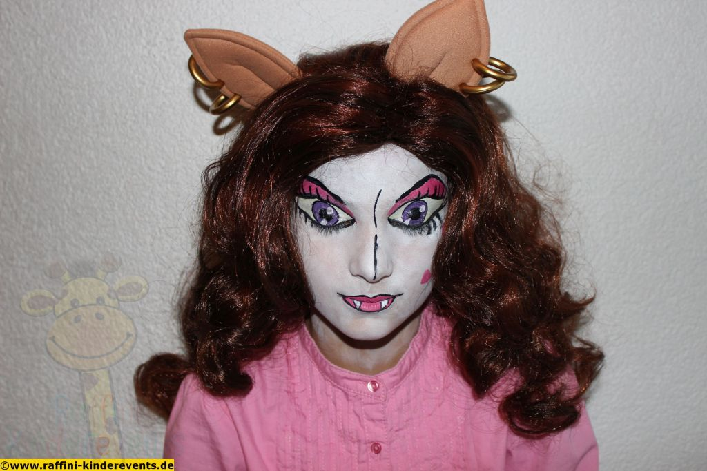 Monster High Facepainting, Kinderschminken
